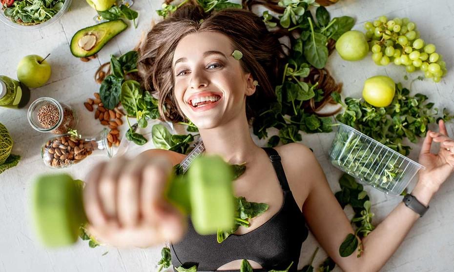 Ejercicios y dieta saludable