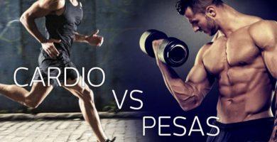 cardio vs pesas