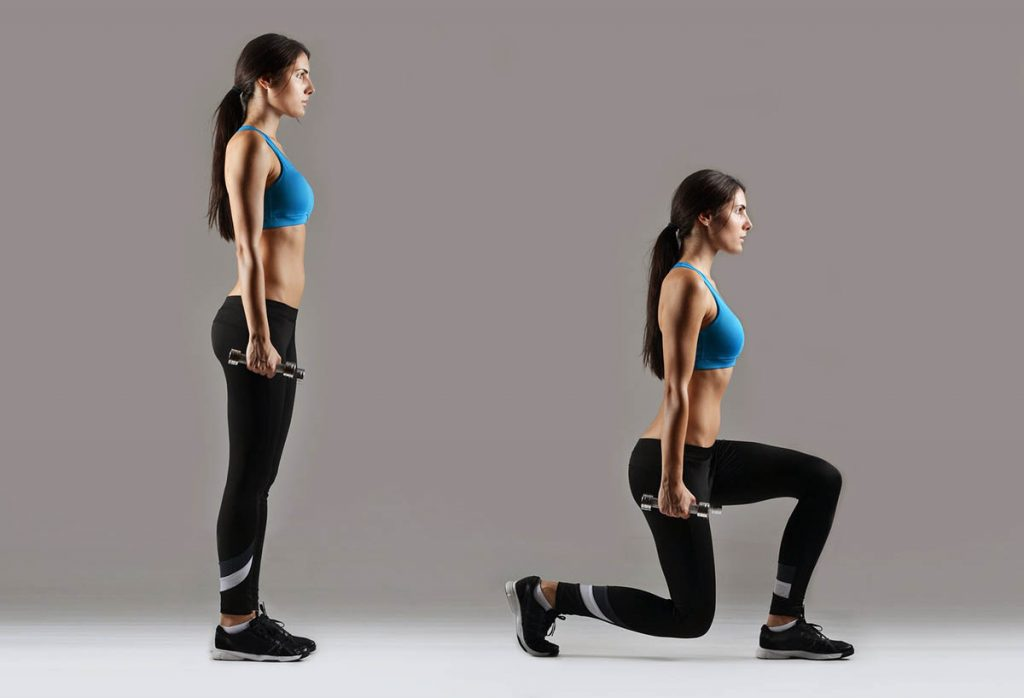 Lunges correcto