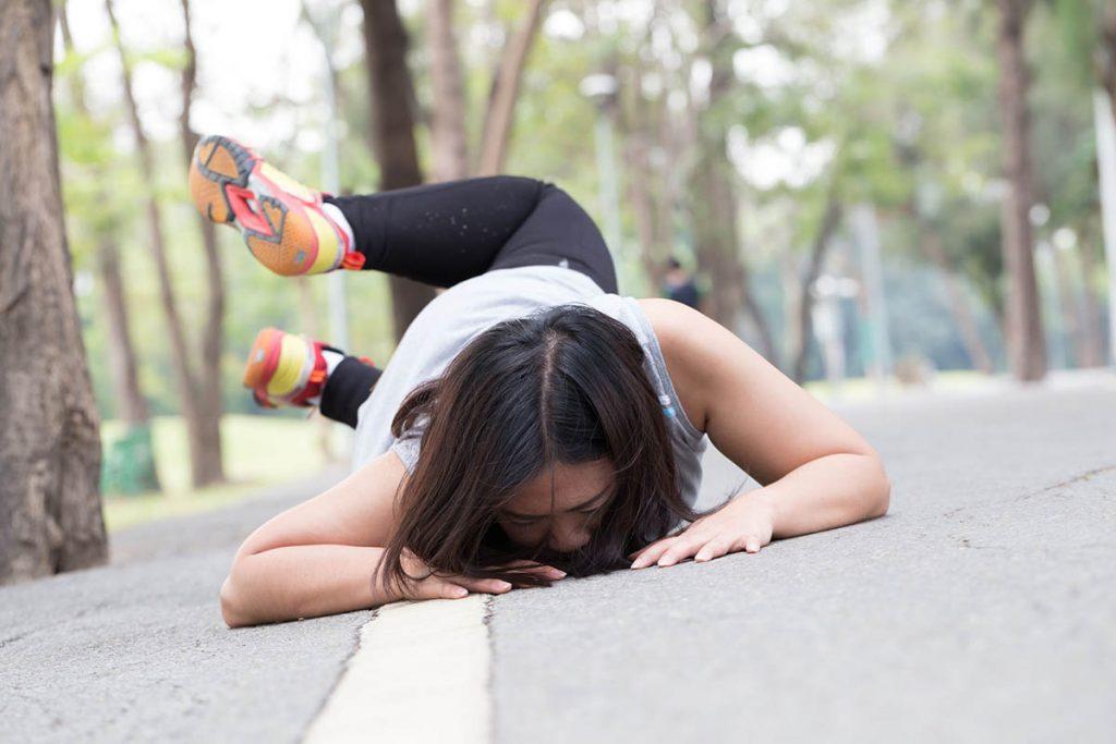 Caída runner