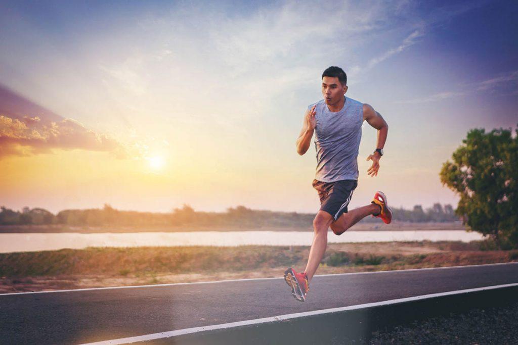 Corriendo sprint