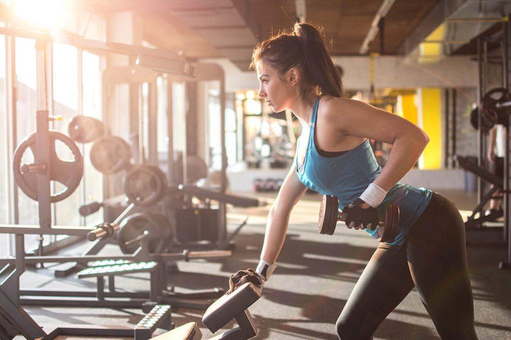 Ejercicio de fuerza para perder peso
