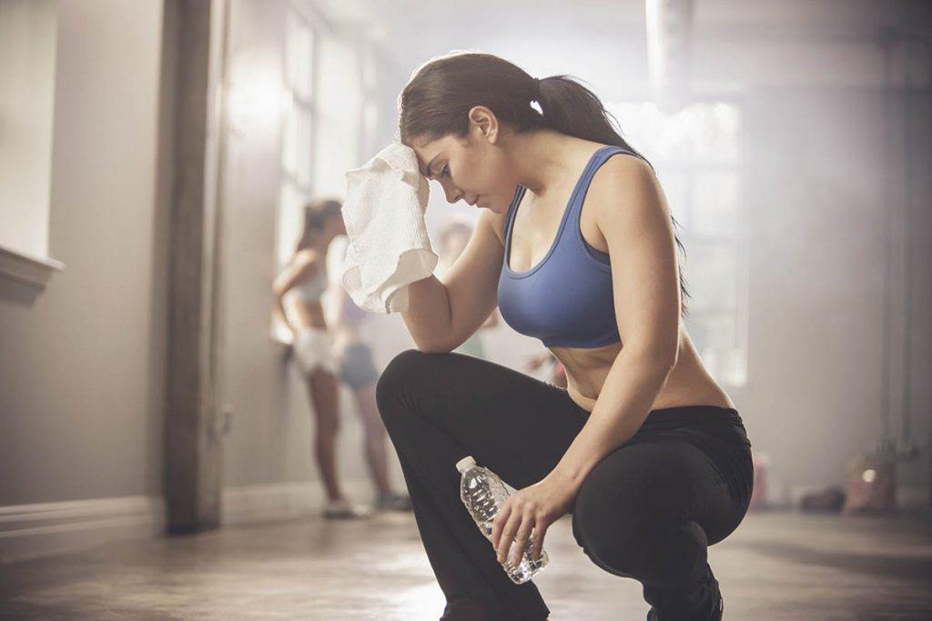 Hidratarse correctamente al hacer ejercicio