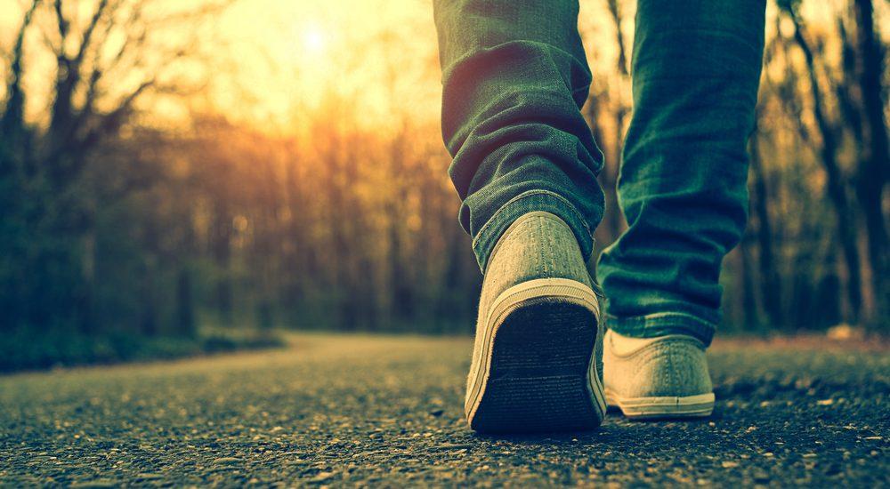 Perder calorías caminando
