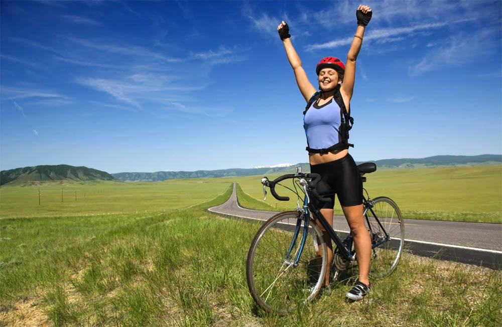 Adelgazar montando en bicicleta